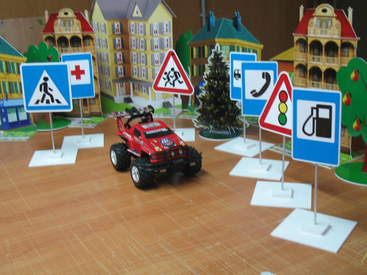 Игры по дорожному движению своими руками для детского сада